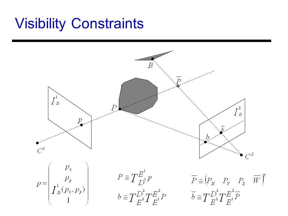 Visibility Constraints