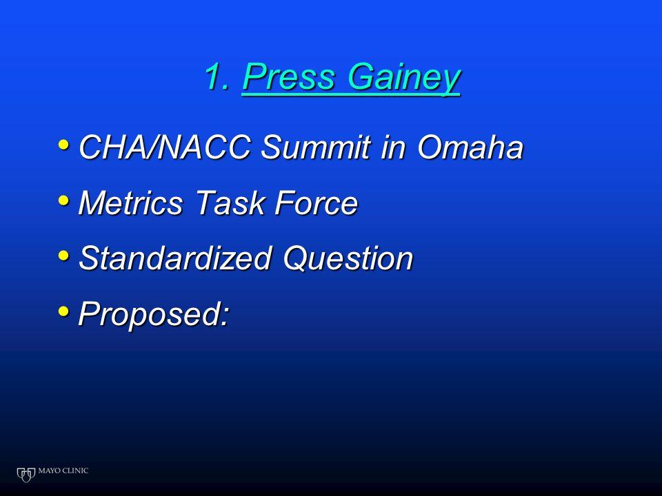 Part D. Methods for Measuring 1. Press Gainey 2. Mayo Care Program (UOS) 3. SPIRIT Program 4. Providence Everett (SCU) 5. HealthCare Chaplaincy 6. Cli