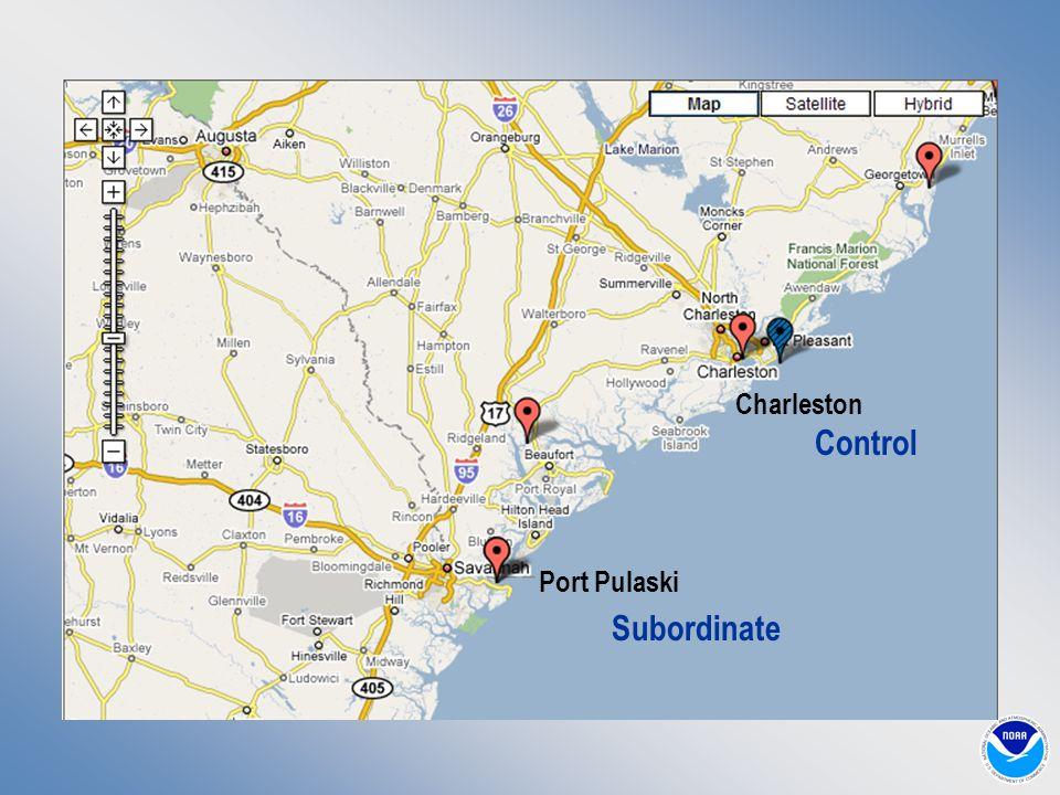 Port Pulaski Charleston Subordinate Control