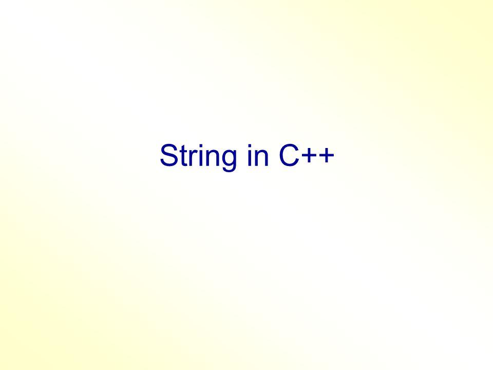 6- strncmp(s1, s2,n)  0 if s1[n] = s2[n]  -1 if s1[n] < s2[n]  1 if s1[n] > s2[n] #include void main() { char str1[20] ; char str2[20] ; cin.getline(str1,20); cin.getline(str2,20); if (strncmp(str1,str2,1)) if (strcmp(str1,str2,1) == 1) cout <<str2<<endl; else cout<<str1<< < <<str2<<endl; else cout<<str1<< = <<str2<<endl; }