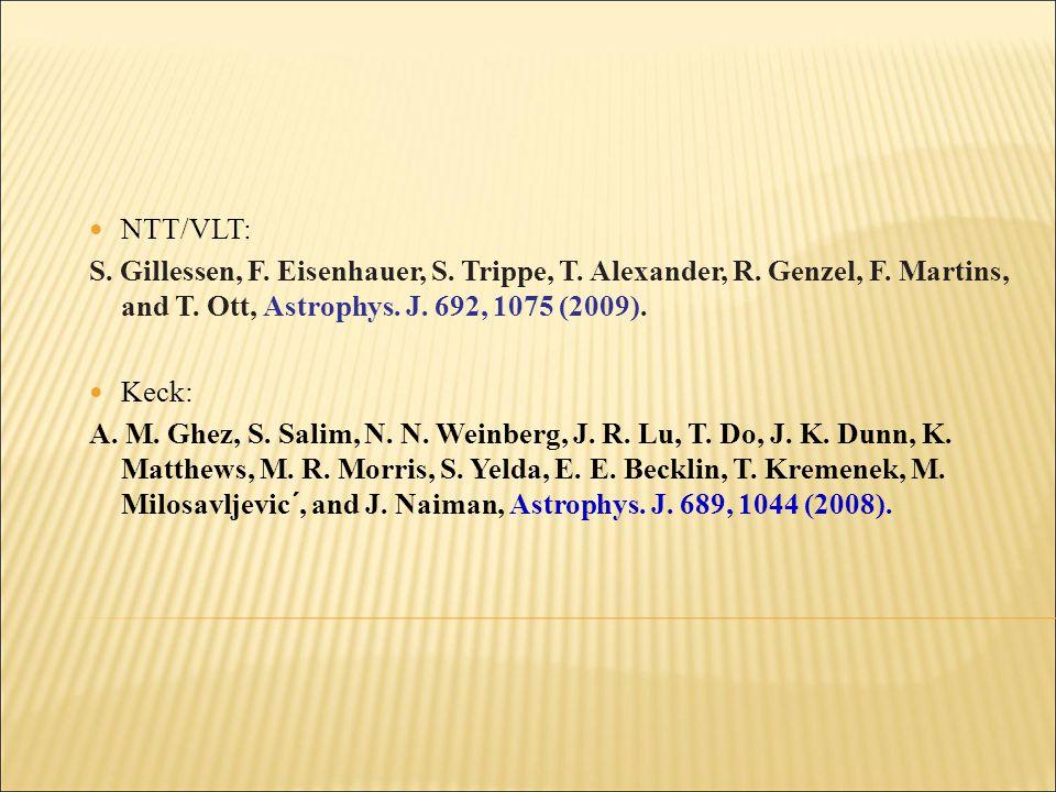 NTT/VLT: S. Gillessen, F. Eisenhauer, S. Trippe, T.