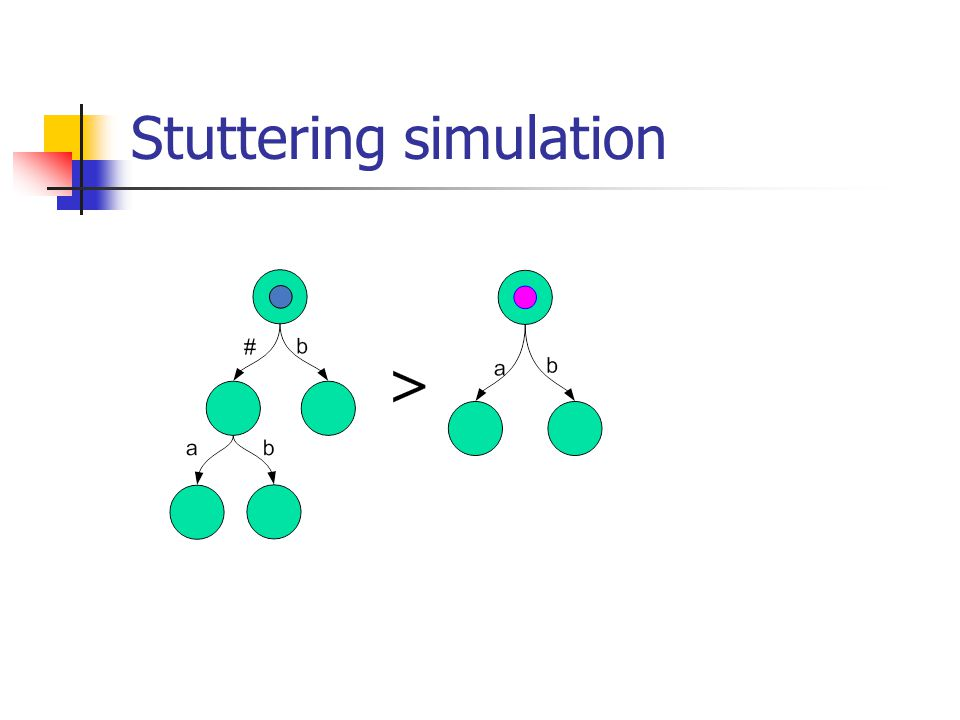 Stuttering simulation