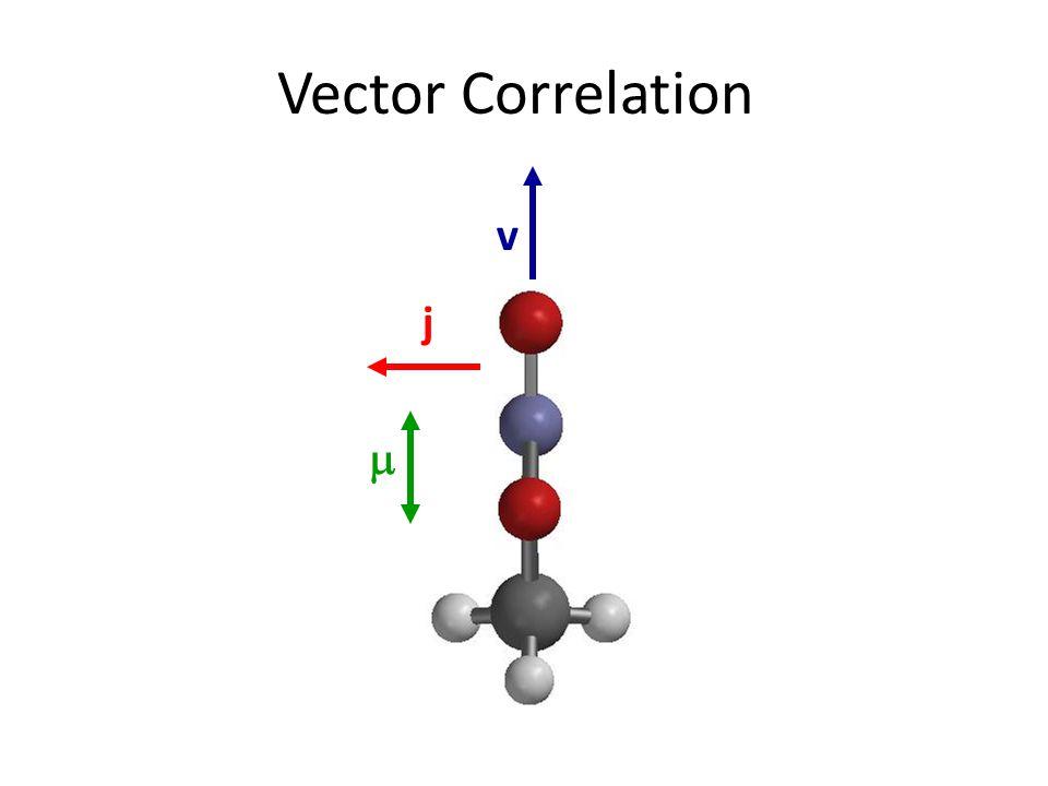 Vector Correlation  v j
