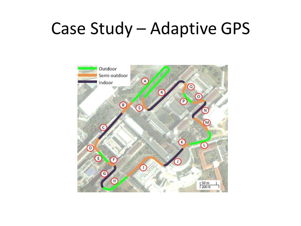 Case Study – Adaptive GPS