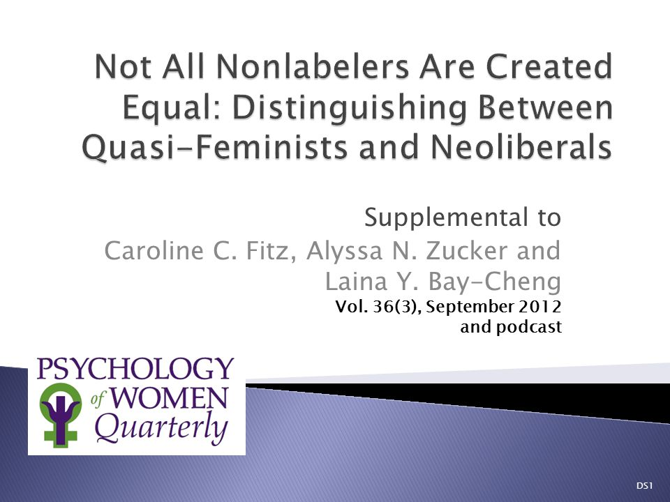 Supplemental to Caroline C. Fitz, Alyssa N. Zucker and Laina Y.