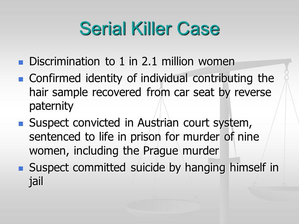 Serial Killer Case VICTIMEVIDENCE