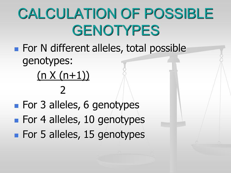 Restriction Fragment Length Polymorphisms RFLP genotypes are inherited.