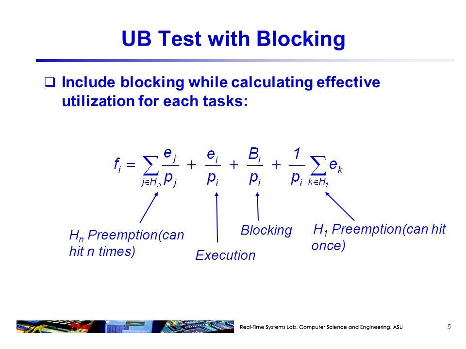 Blocked At Most Once (PCP)  1 :{…P(S1)…P(S2)…V(S2)…V(S1)…}  2 :{…P(S1)…V(S1)…}  3 :{…P(S2)…V(S2)…} S2 locked S2 unlocked  3 (L)  1 (H)  2 (M) attempts to lock S1(blocked) B S1 locked S1 unlocked attempts to lock S1(blocked) S2 lockedS2 unlocked S1 locked S1 unlocked 26