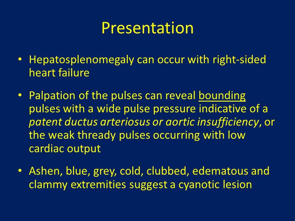 Cyanotic Congenital Heart Disease with Increased Pulmonary Blood Flow Includes: – Transposition of the great arteries – Truncus arteriosus – Total anomalous pulmonary venous return