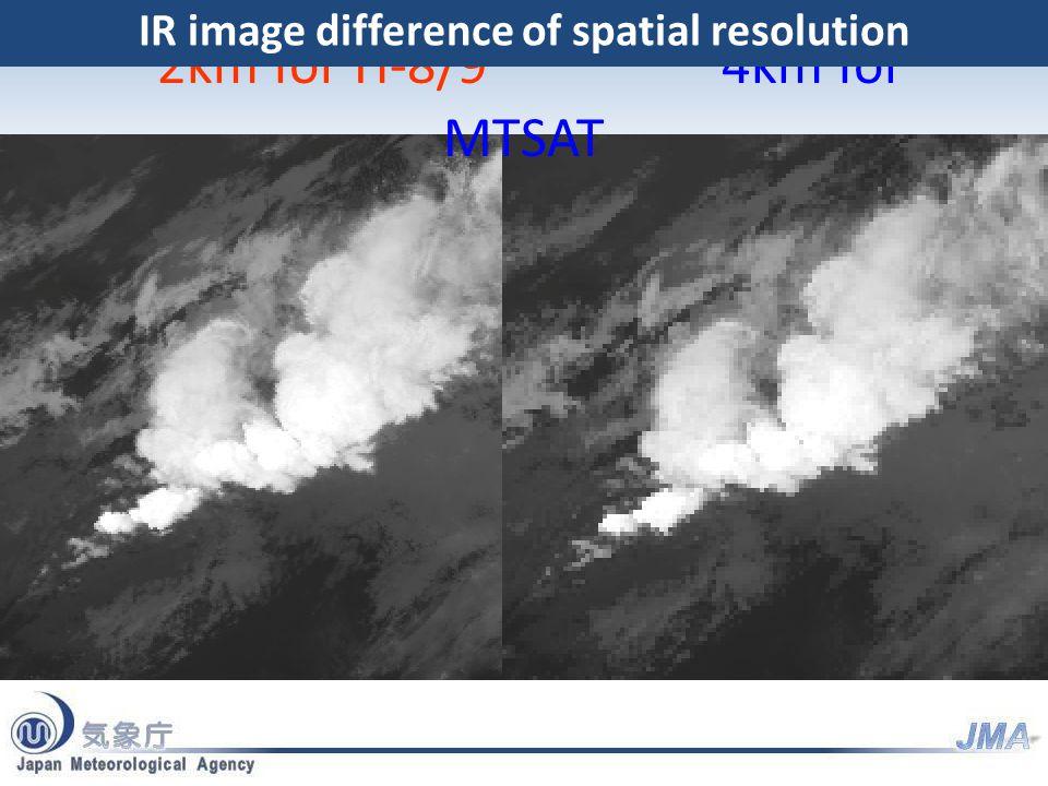 Region 1 NE-JAPAN Region 2 SW-JAPAN Region 3 Typhoon Region 4 Land mark Region 5 Land mark Full disk Interval : 10 minutes (6 times per hour) 23 swath Region 1 JAPAN (North-East) Interval : 2.5 minutes (4 times in 10minutes) Dimension : EW x NS: 2000 x 1000 km 2 swath Region 2 JAPAN (South-West) Interval : 2.5 minutes (4 times in 10minutes) Dimension : EW x NS: 2000 x 1000 km 2 swath Region 3 Typhoon Interval : 2.5 minutes (4 times in 10minutes) Dimension : EW x NS: 1000 x 1000 km 2 swath Region 4 Land mark Interval : 0.5 minutes (20 times in 10minutes) Dimension : EW x NS: 1000 x 500 km 1 swath Region 5 Land mark Interval : 0.5 minutes (20 times in 10minutes) Dimension : EW x NS: 1000 x 500 km 1 swath AHI will scan all sectors within 10 minutes