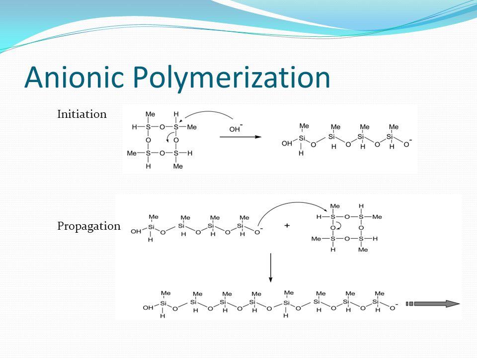 Anionic Polymerization Initiation Propagation