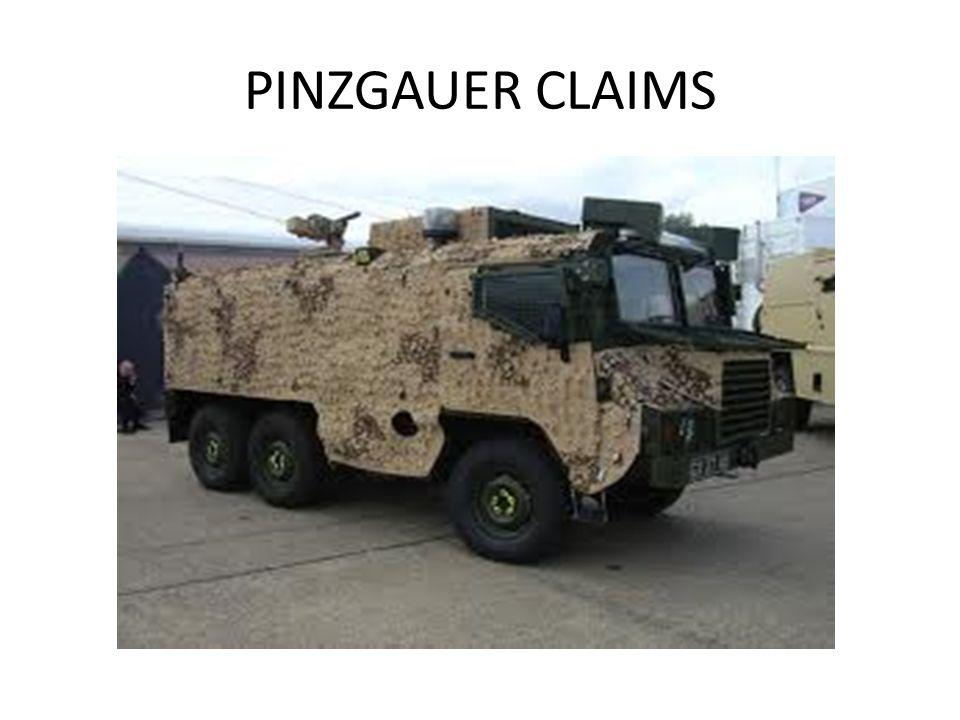PINZGAUER CLAIMS