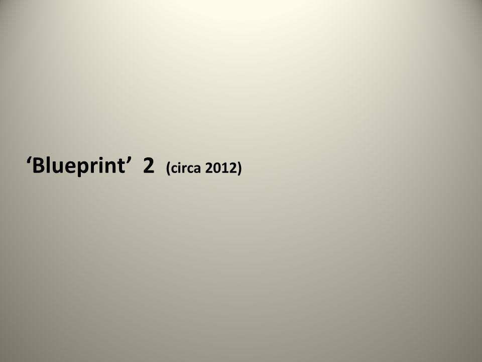 'Blueprint' 2 (circa 2012)