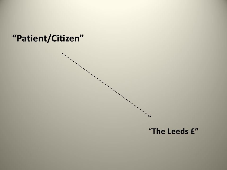 Patient/Citizen The Leeds £