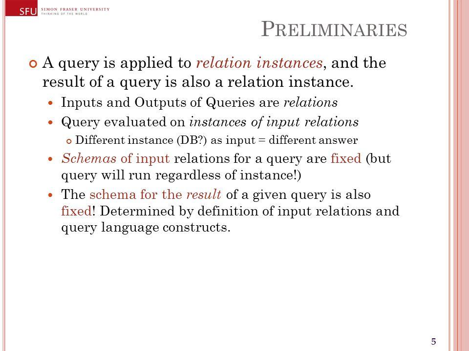66 P RELIMINARIES Positional vs.