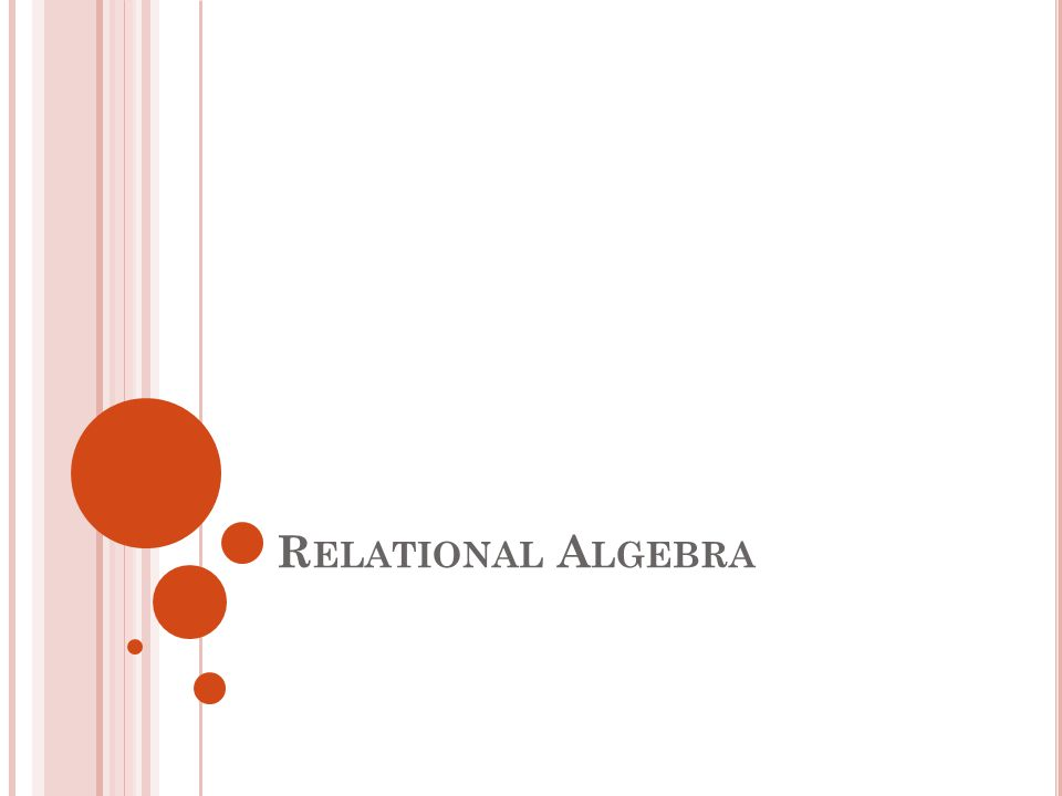 99 An algebra consists of operators and operands.Operands can be either variables or constants.