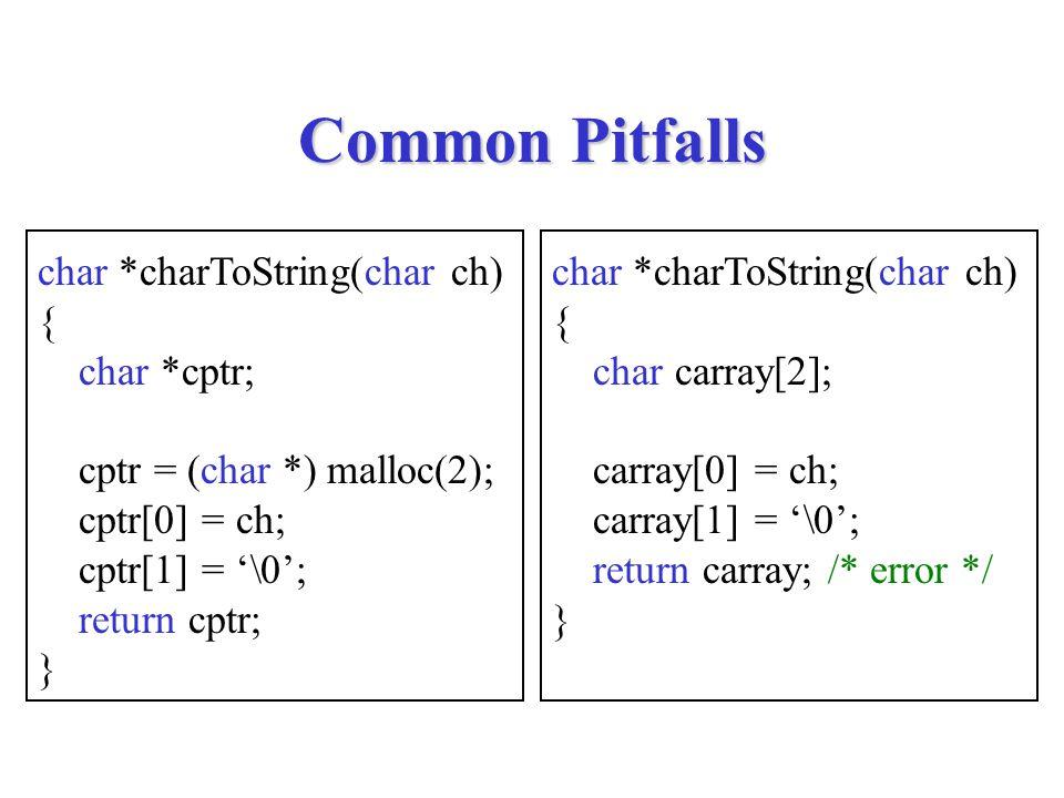 strrchr char *strrchr(char s[], char ch) { int i; char *ptr; ptr = NULL; for (i = 0; s[i] != '\0'; i++) { if (ch == s[i]) ptr = &s[i]; } return ptr; }