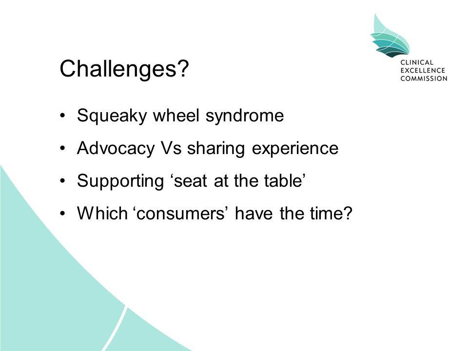 Challenges.