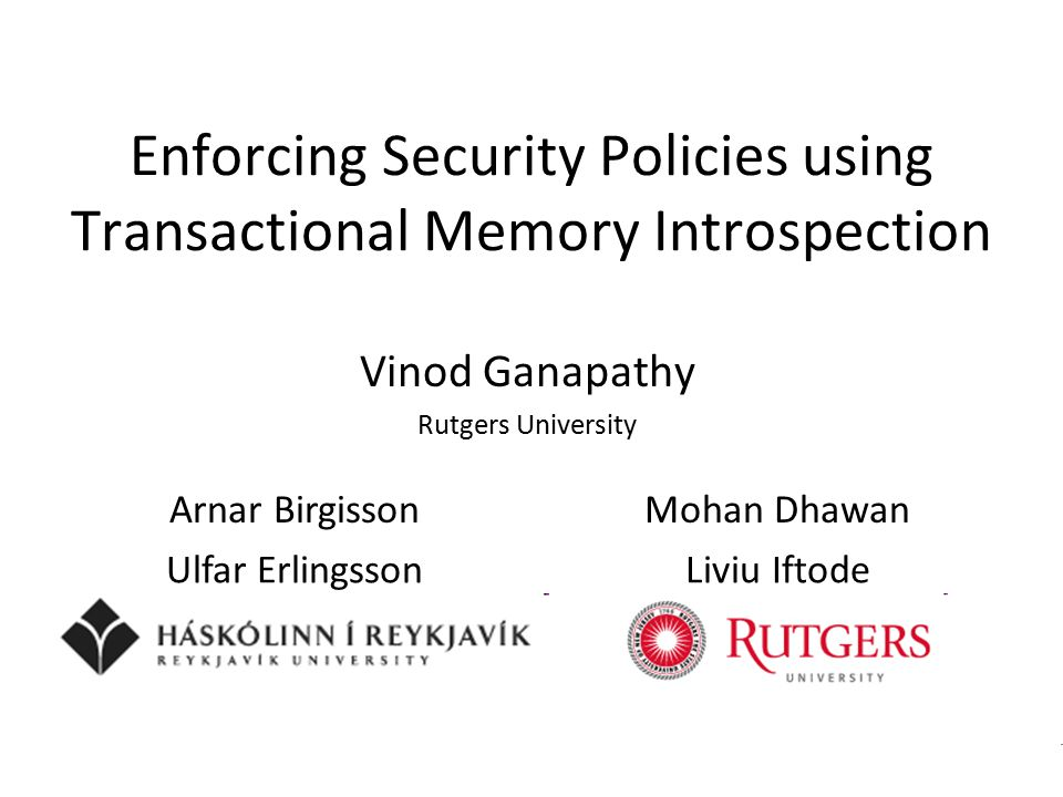 Vinod Ganapathy perform_request ( ) {...perform_access (resource);...