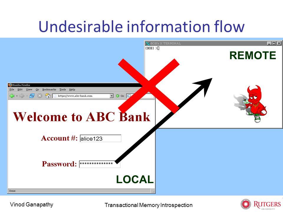 Vinod Ganapathy III.Error-handling for free dispatch_request ( ) { transaction [ principal ] {...