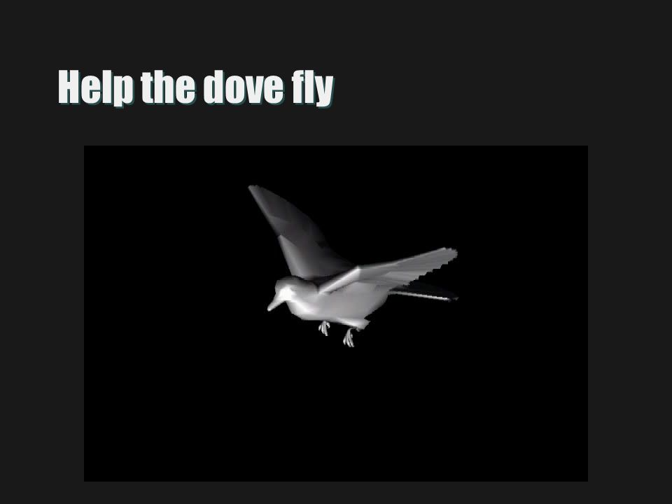 Help the dove fly