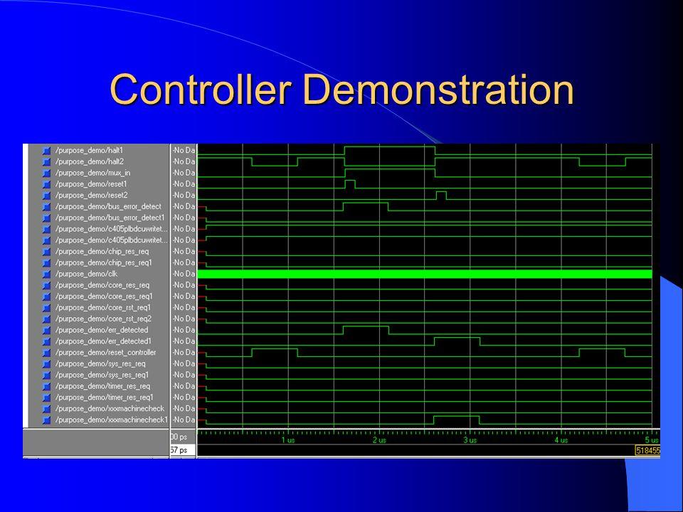Controller Demonstration