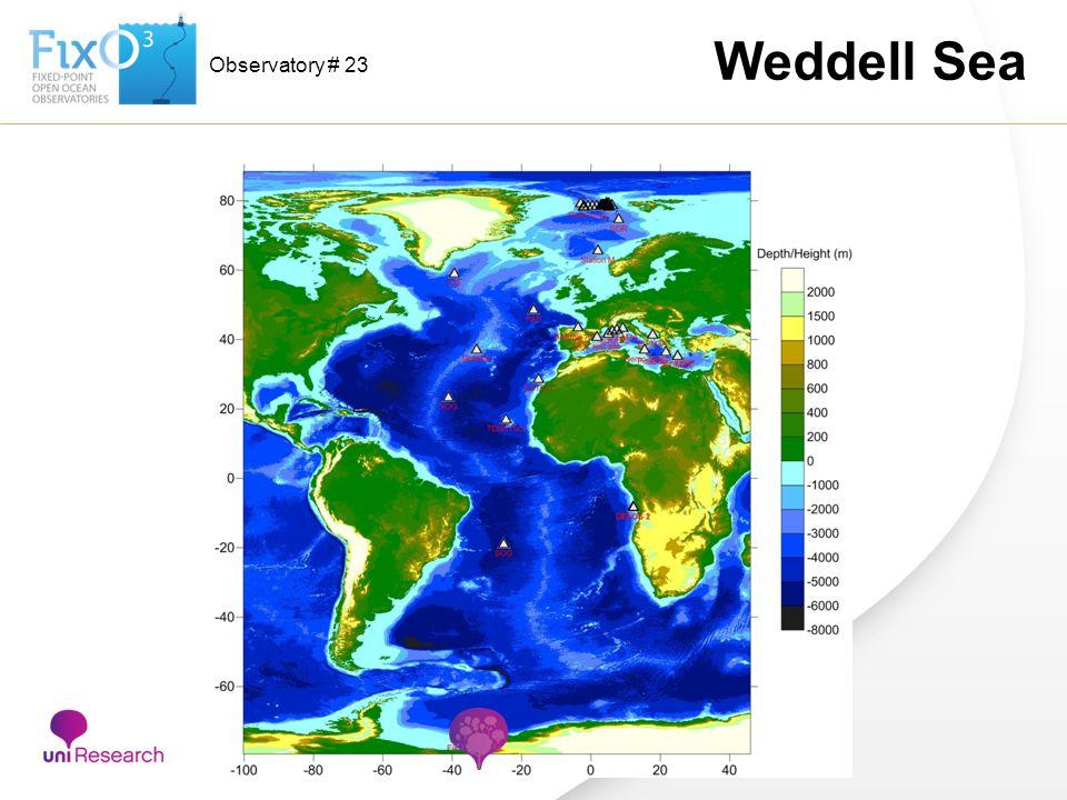 Observatory # 23 Weddell Sea