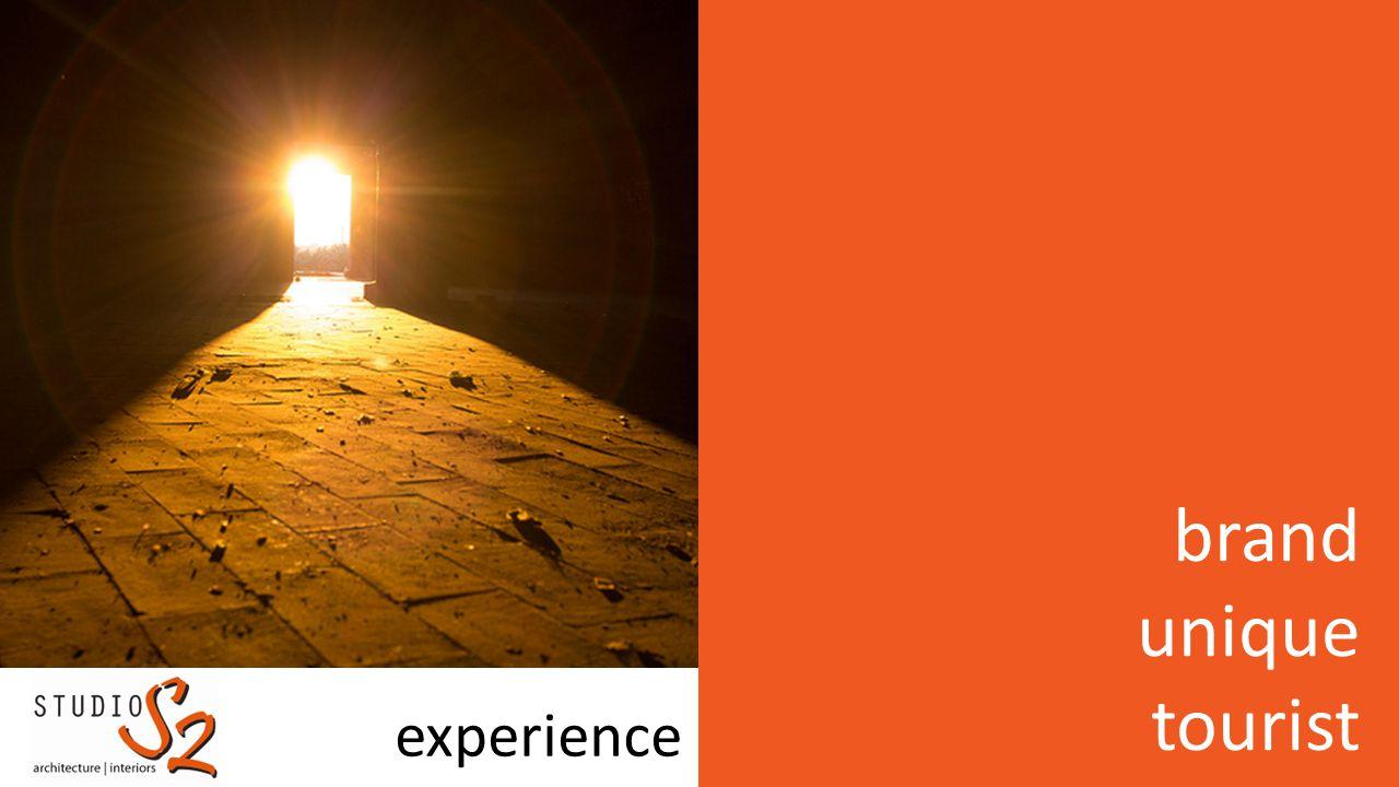 experience brand unique tourist