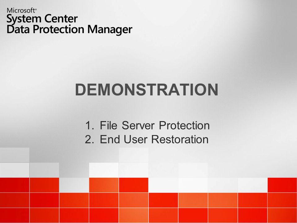 14 DPM Walkthru Task : Configure Protection