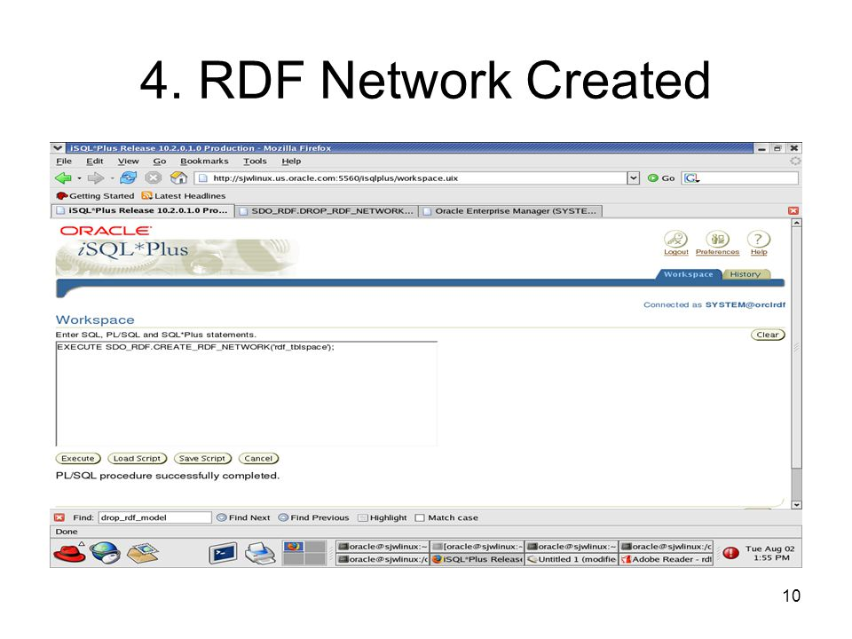 10 4. RDF Network Created