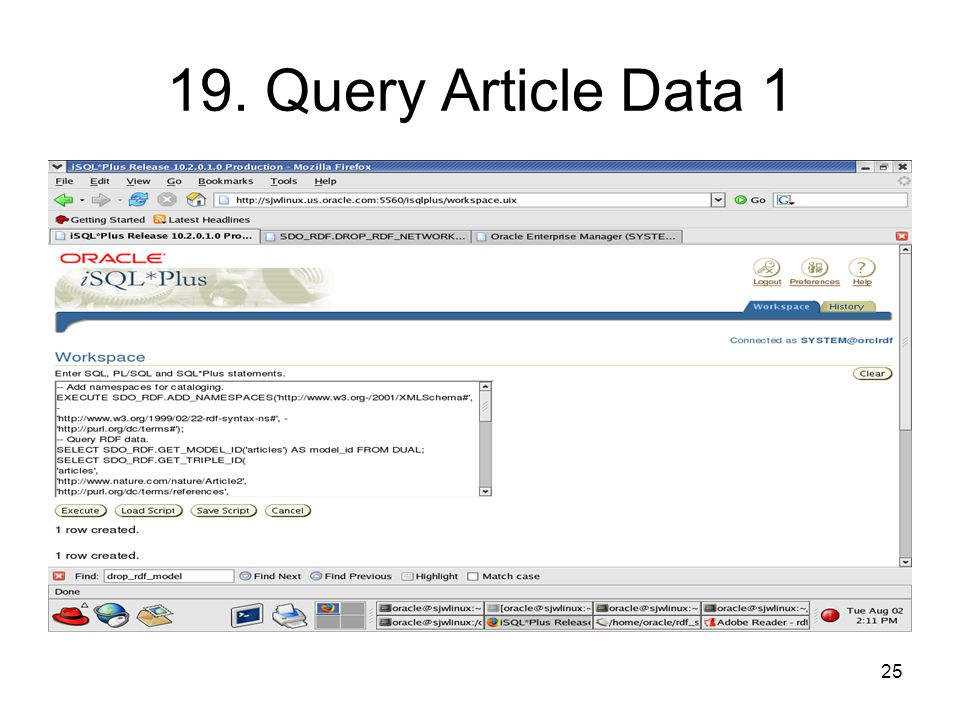 25 19. Query Article Data 1