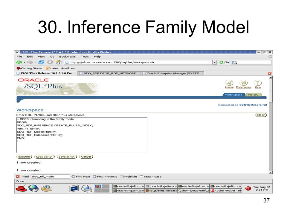 37 30. Inference Family Model