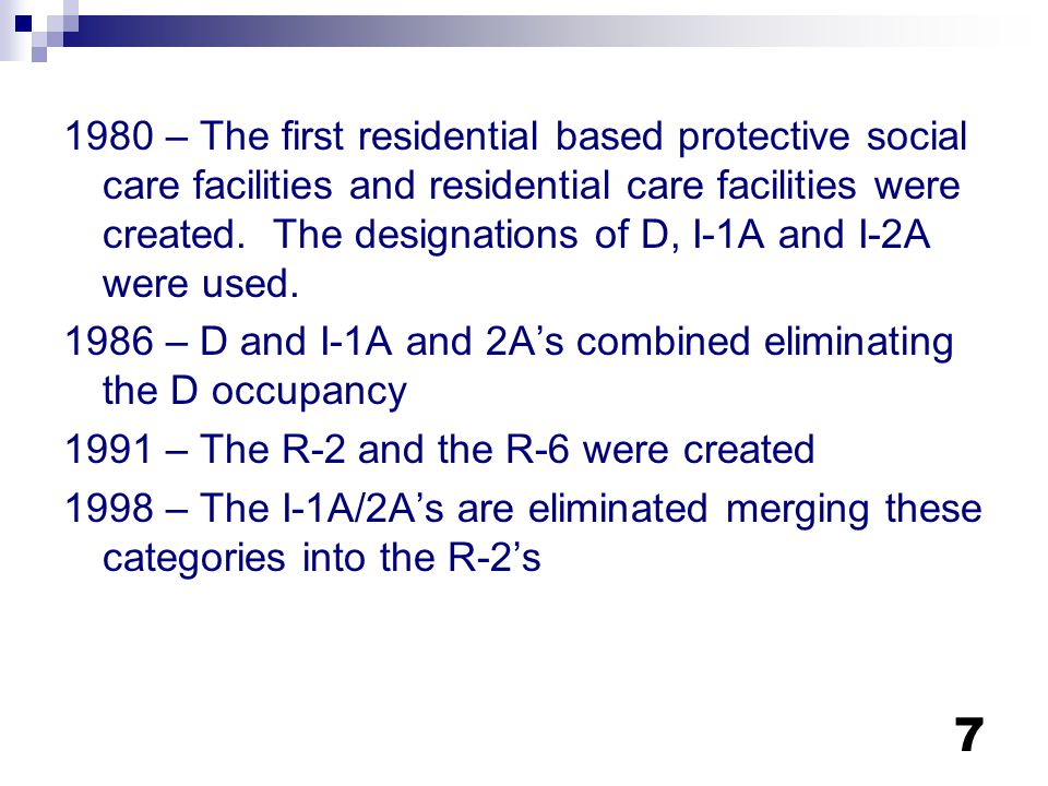 68 R-3.1 Limitations – Zoning H&S Code 1566.3 Shall be considered a residential use of property Residents and operators shall be considered a family Applies to any law or zoning ordinance which relates to the residential use of property pursuant to this article