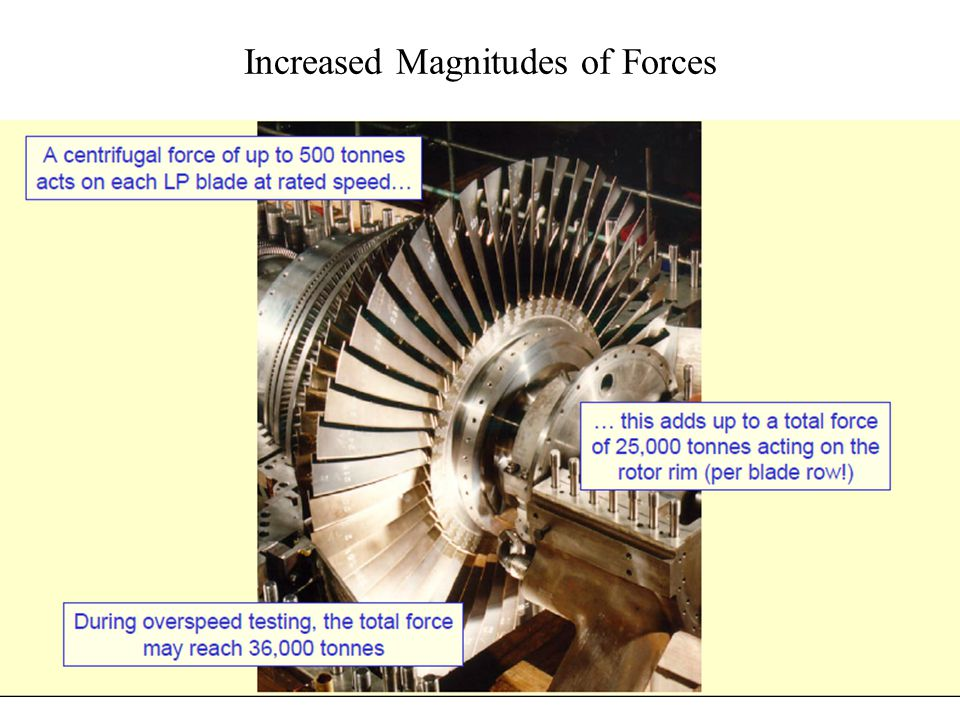Some Facts about Advanced Steam Turbines