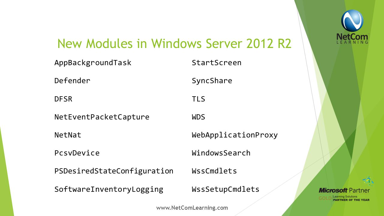 New Cmdlets in Windows Server 2012 R2