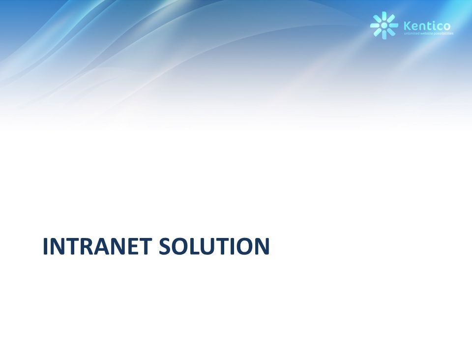 INTRANET SOLUTION