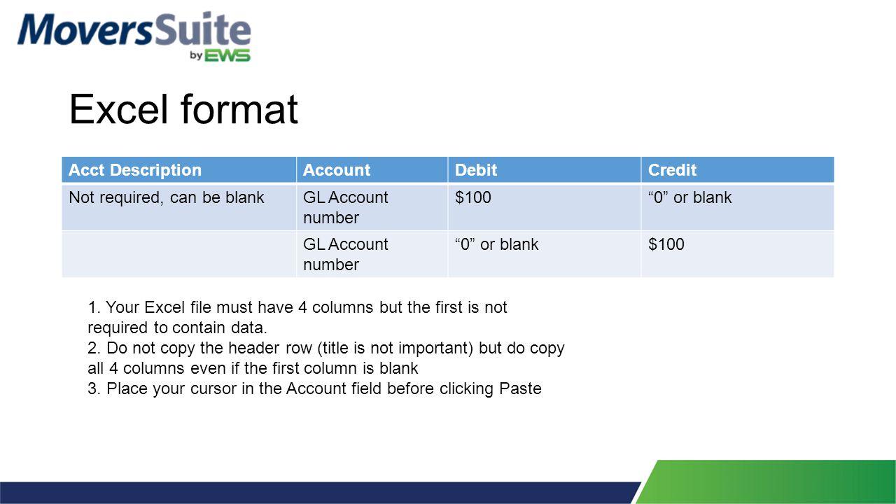 GL Transaction Paste Validation Report
