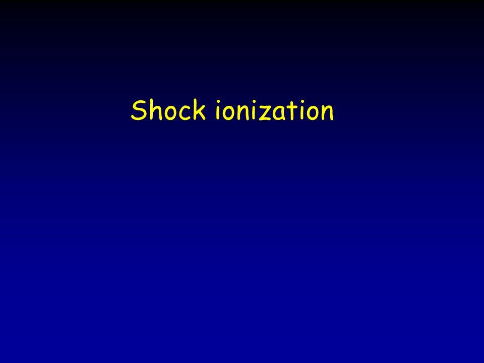 Shock ionization