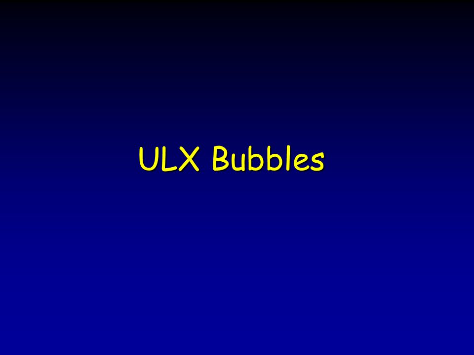 ULX Bubbles