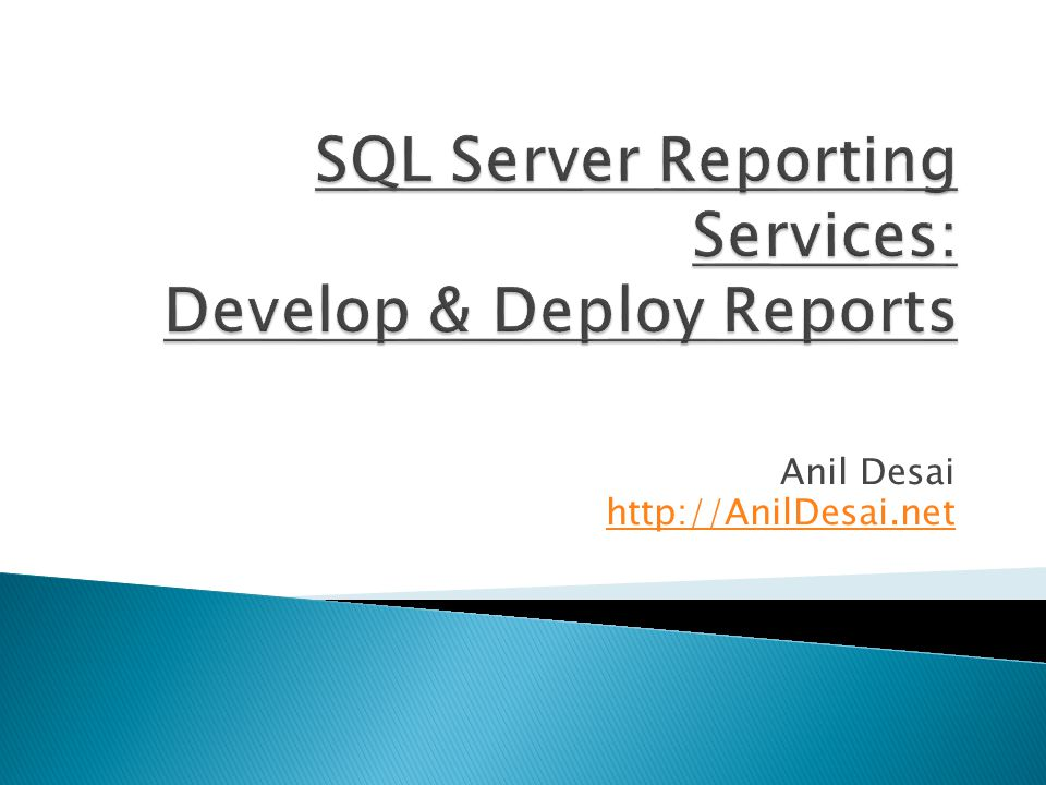  Events are executed by SQL Server Agent service  Schedule Types ◦ Report-Specific Schedules ◦ Shared Schedules  Defined at the system level  Tips: ◦ Keep track of time zones ◦ Use shared schedules whenever possible to allow centralized management ◦ Distribute reporting processing workload over time