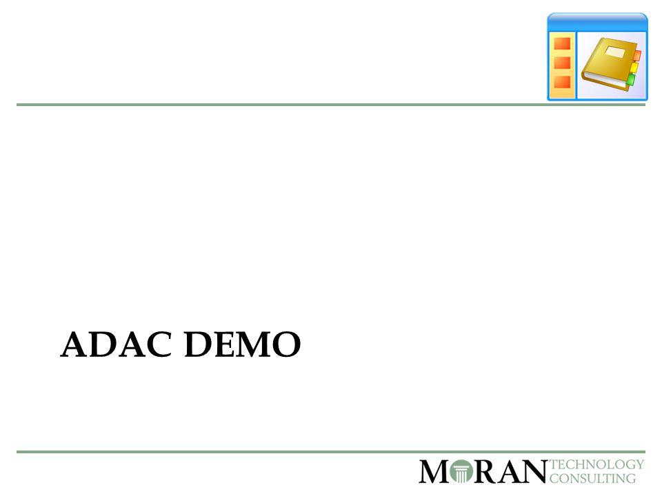 ADAC DEMO