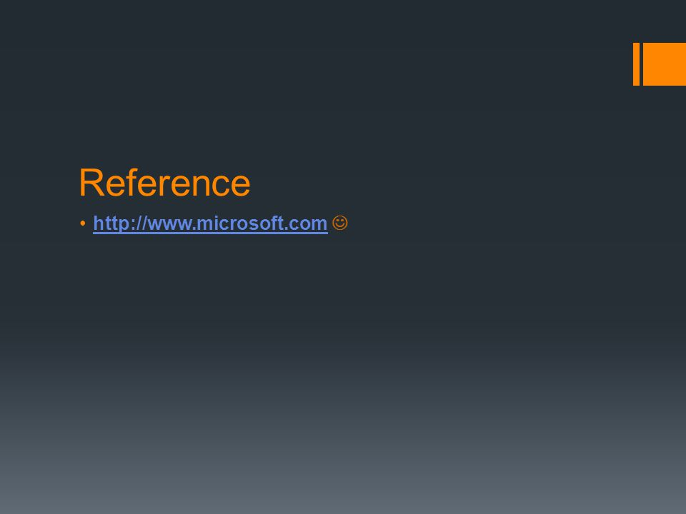 Reference http://www.microsoft.com