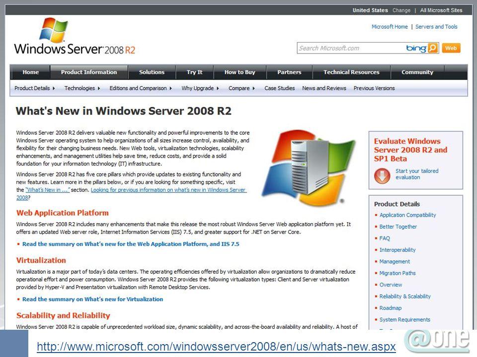 Your slides here http://www.microsoft.com/windowsserver2008/en/us/whats-new.aspx