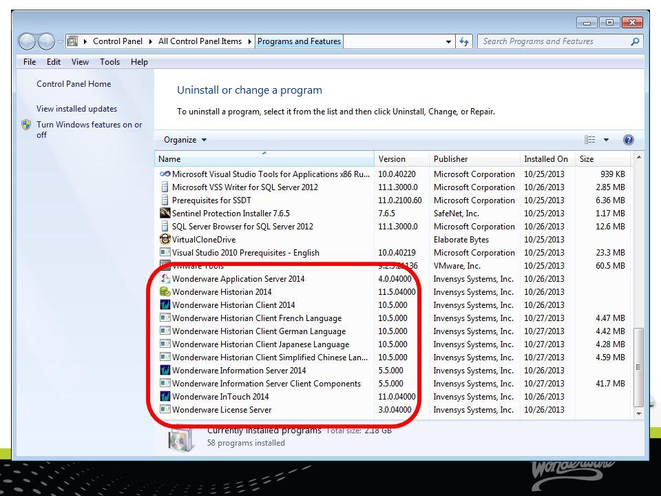 New Alarms & Events In Historian Same Historian configuration: Server Redundant Historian Store forward Bandwidth