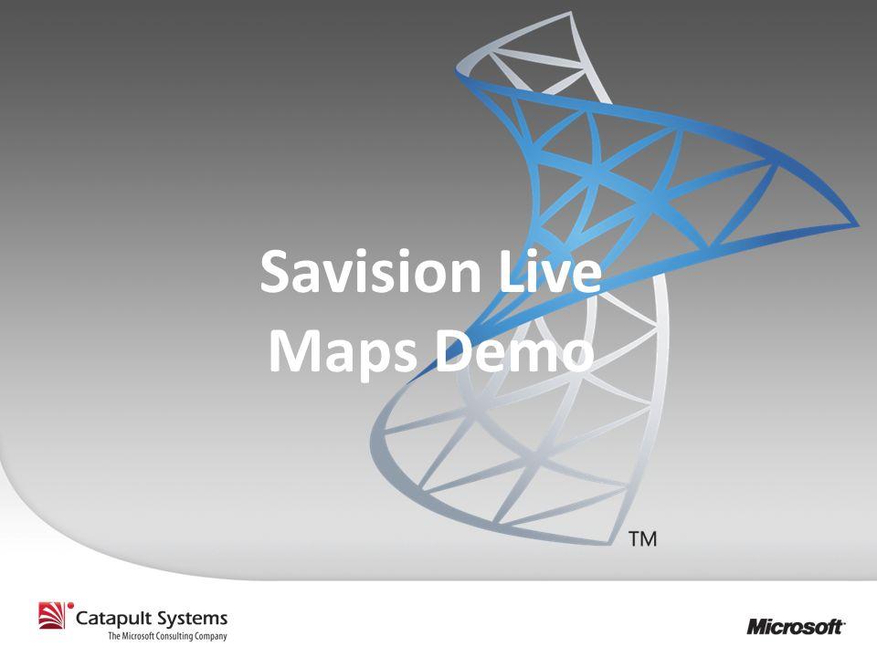 Savision Live Maps Demo