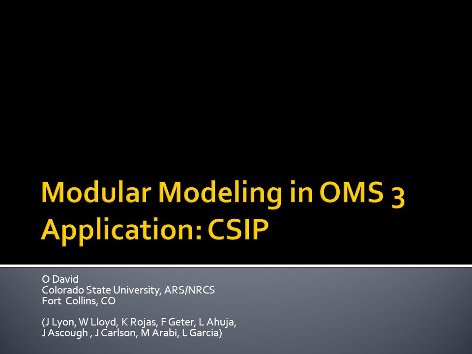 Manual Parameter Selection Transect Definition USGS Elevation Service Location based Management Selection Remote Model Execution of Rusle2 in CSIP/OMS3 Model Results