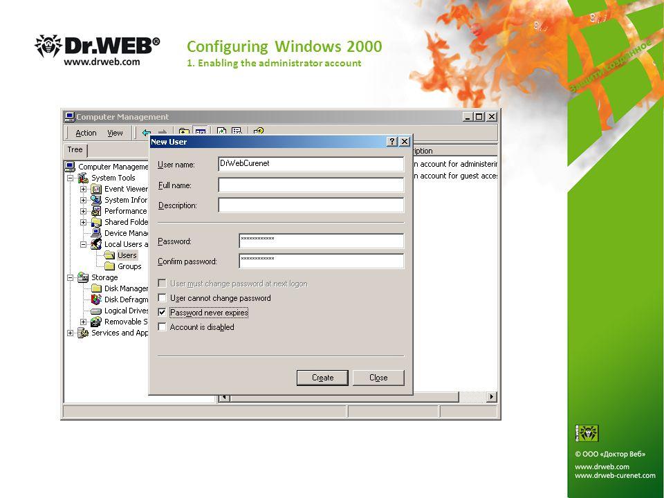 Configuring Windows Vista 5. Configuring network components