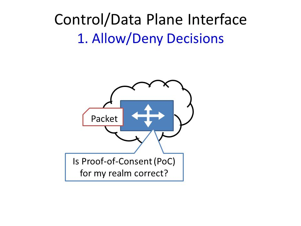 Control/Data Plane Interface 1.