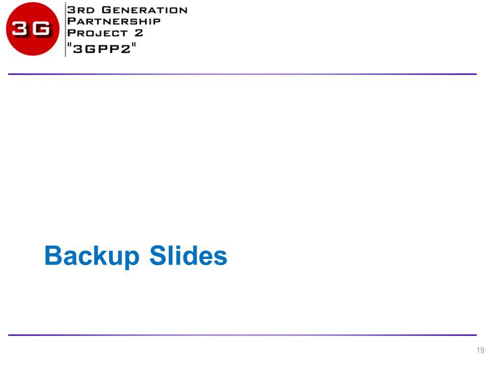Backup Slides 19