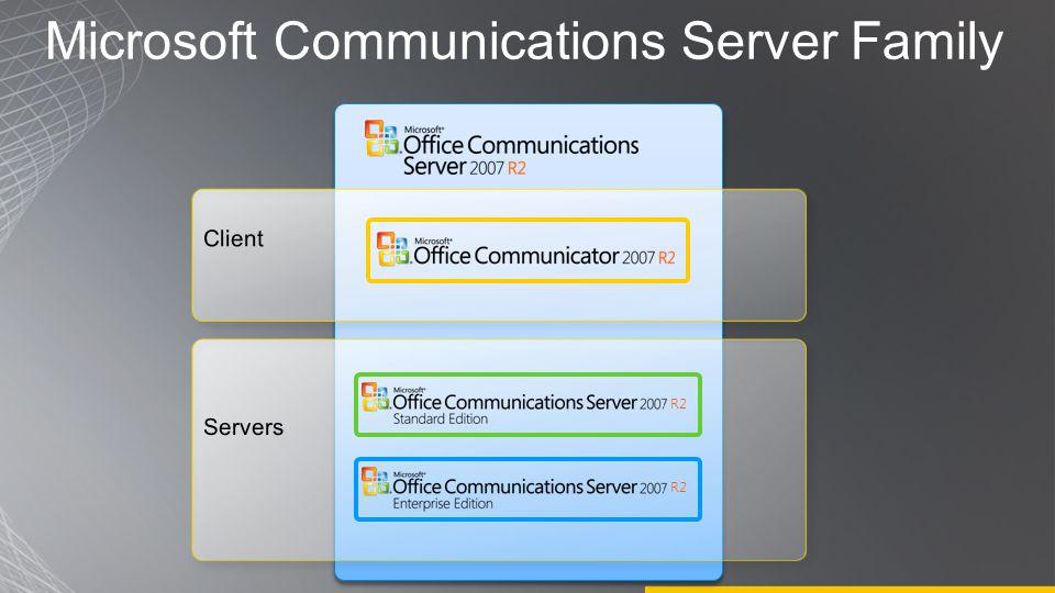 R2 Microsoft Communications Server Family